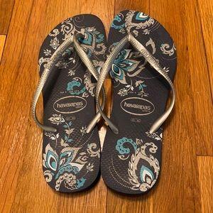 NWOT Havaianas Slim Flip Flops